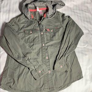 EUC JAPNA kids hooded Long sleeve shirt 14